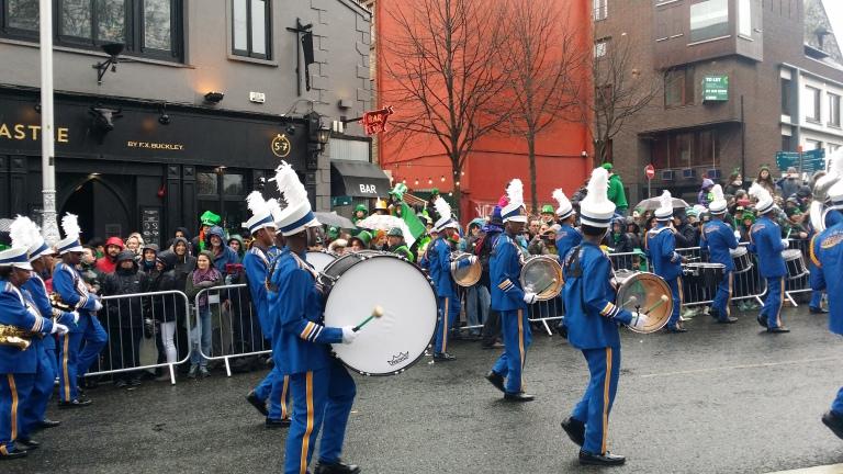 Dublin, parada w dniu św. Patryka