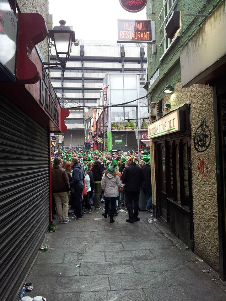 dzień św. patryka - temple bar