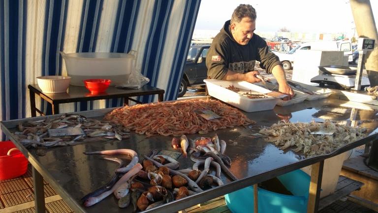 Bari - Świeże owoce morza