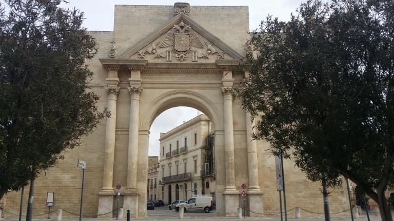 Lecce, jedna z dwóch bram