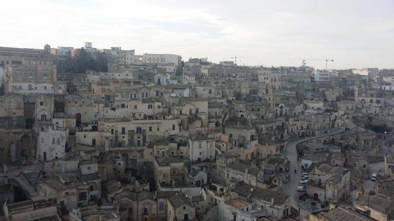 Matera - miasto wykute w skale