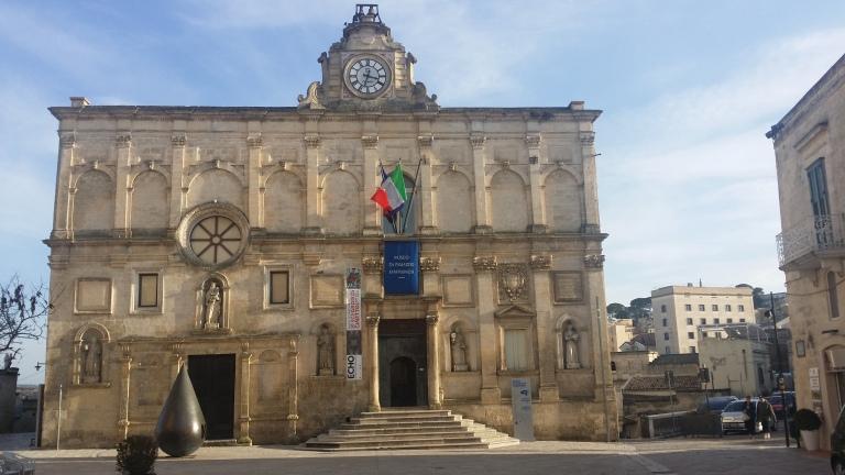 Matera - centrum miasta