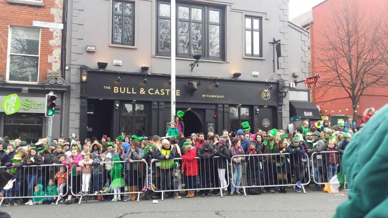 Dublin, Parada w dzień św. Patryka