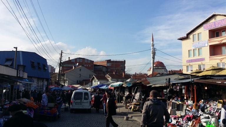 bazar Prisztina