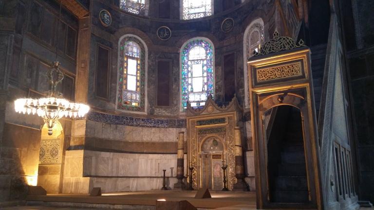 Wnętrza - Hagia Sophia