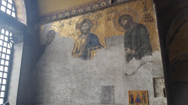 Malunki w Hagia Sophia