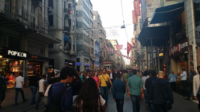 İstiklal Caddesi - Stambuł