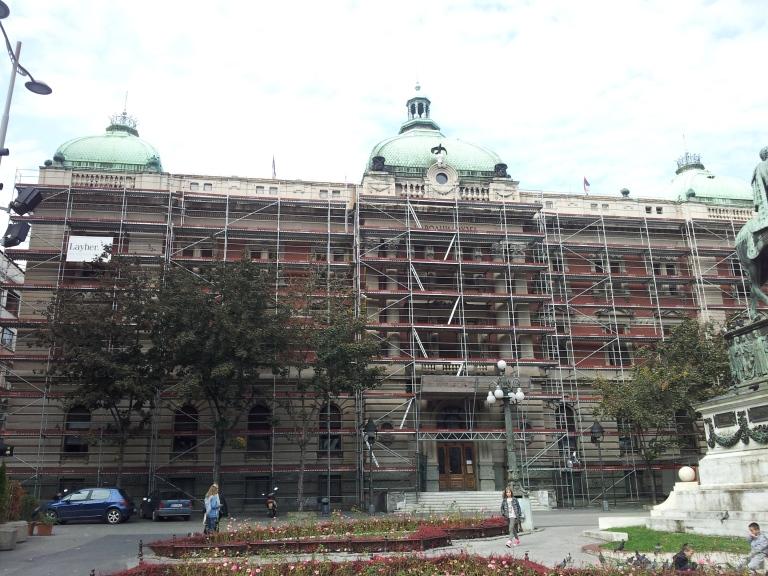 Muzeum Narodowe Belgrad