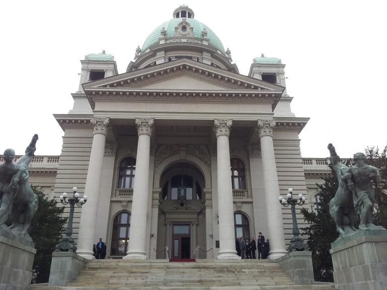 Budynek parlamentu w Belgradzie