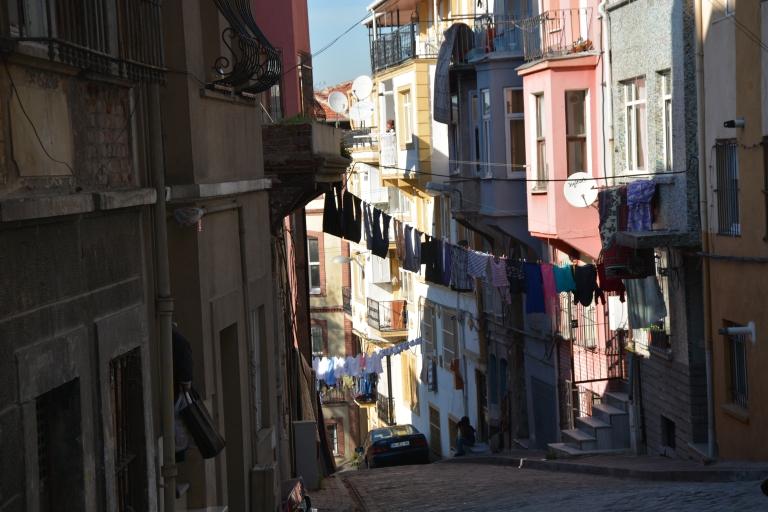 Balat -pranie wiszące za oknem