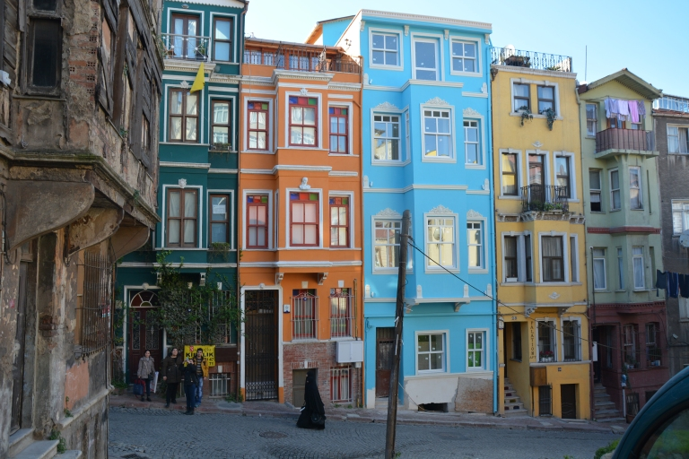 Balat - kolorowe budynki