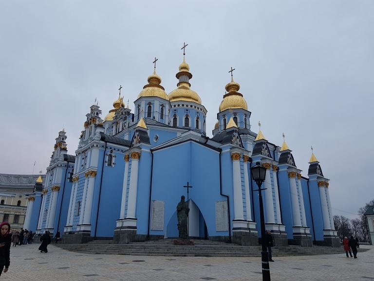 Monaster sw. Michala Archaniola o Zlotych Kopulach