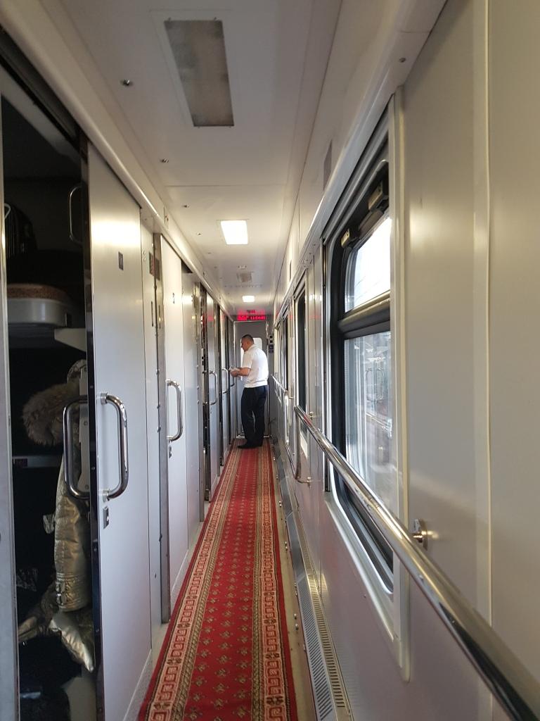 pociąg ze Lwowa do Kijowa