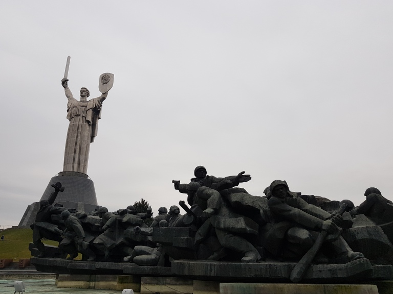 Pomnik Matki Ojczyzny Kijow