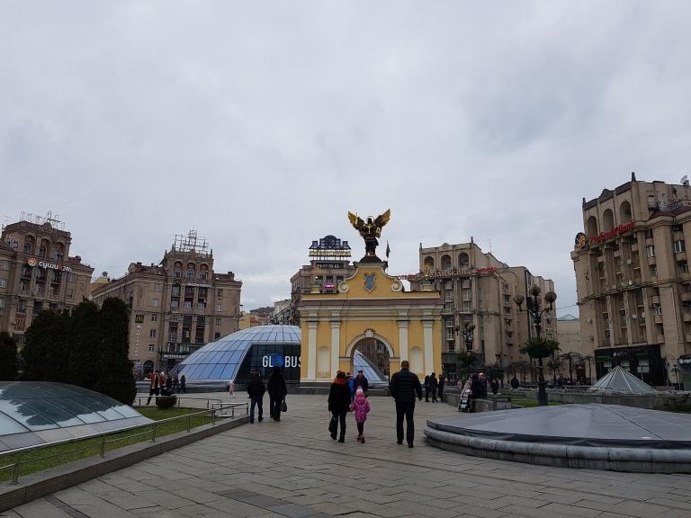 Majdan Kijow, Plac Niepodleglosci