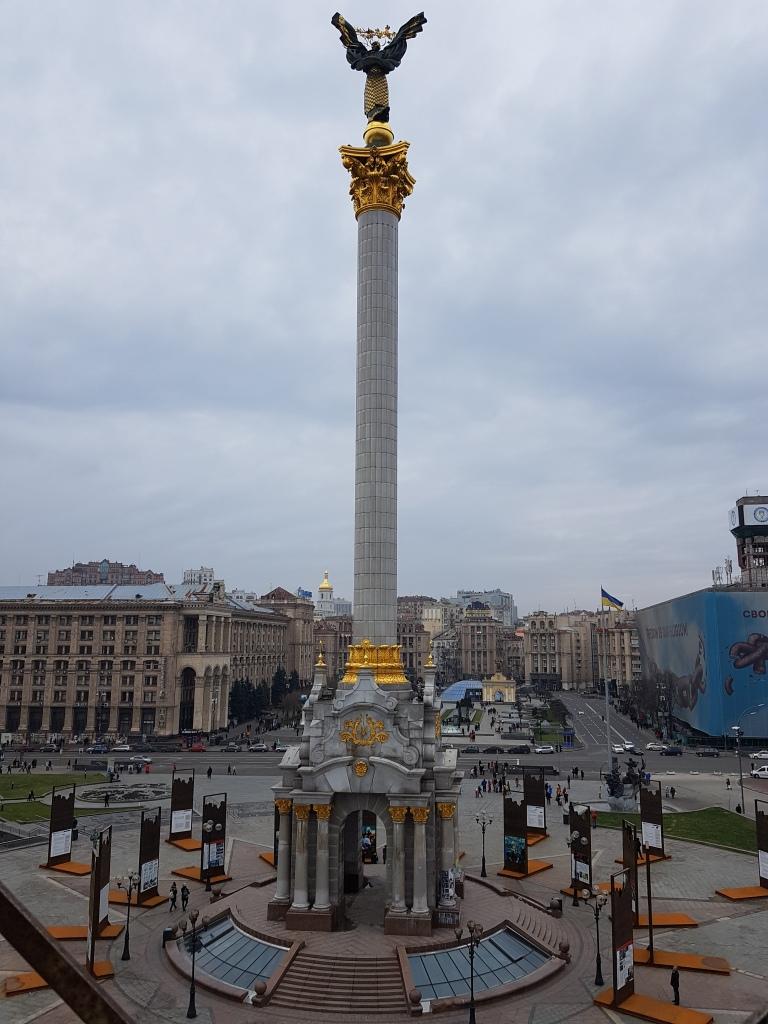Plac Niepodleglosci w Kijowie 2