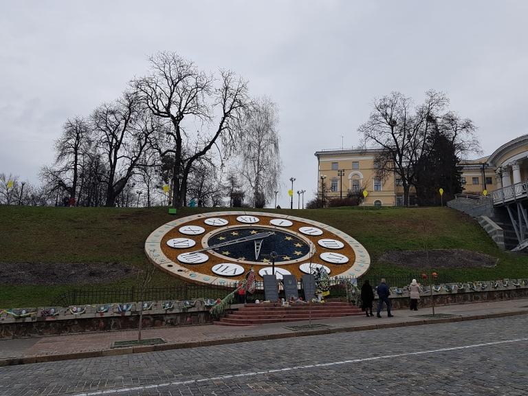Plac Niepodleglosci w Kijowie