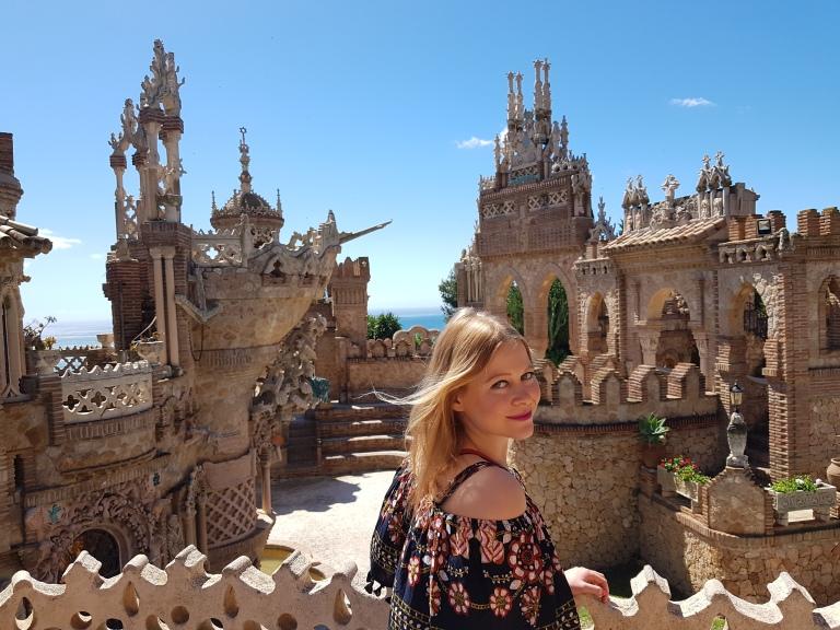 Zamek Castillo de Colomares atrakcje