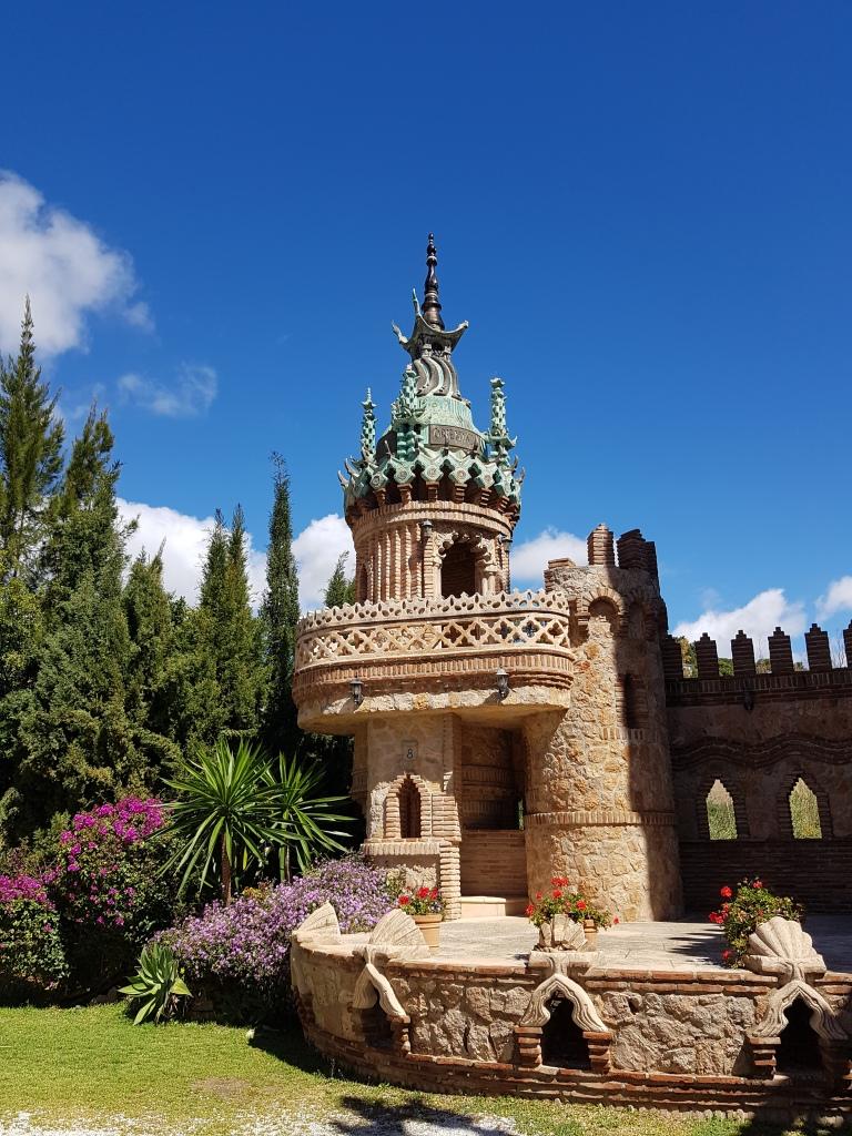 zamek Castillo de Colomares, Benalmadena