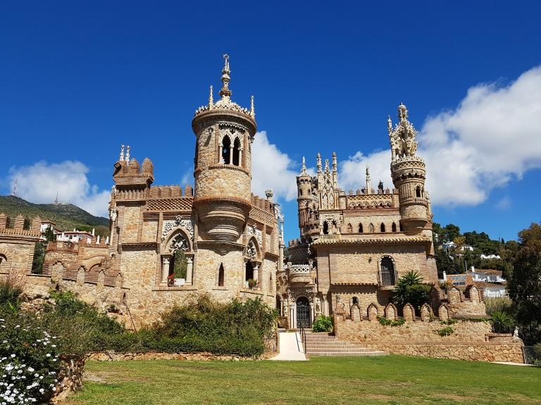 zamek Castillo de Colomares