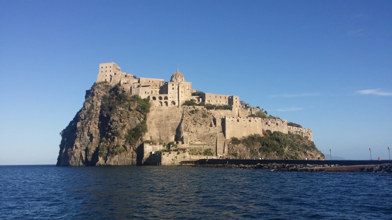 zamek aragonski ischia