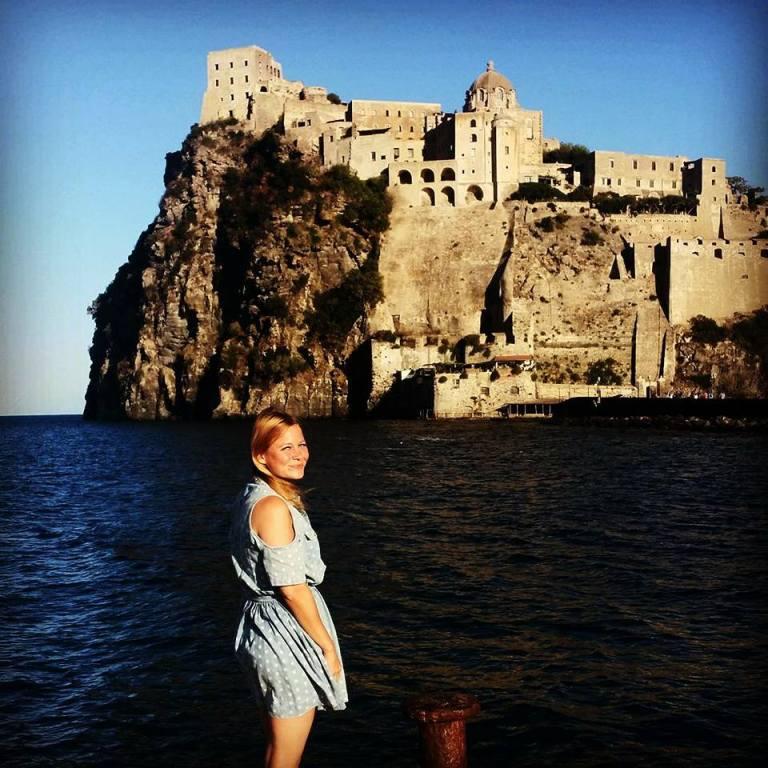 zamek aragoński, Ischia