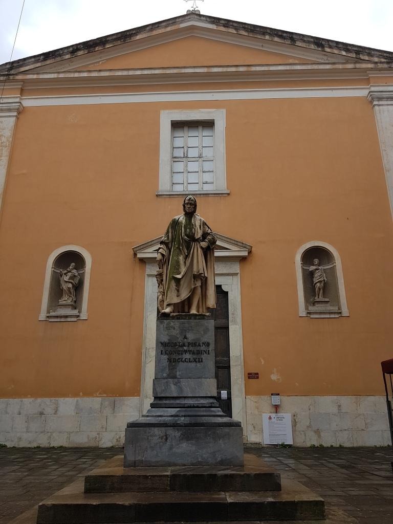 Chiesa di Santa Maria del Camine kosciol w Pizie