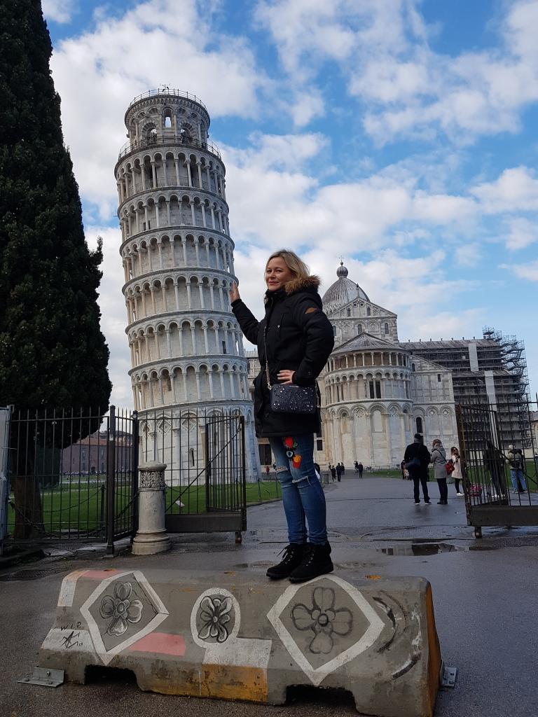 Krzywa wieża w Pizie inspiracje