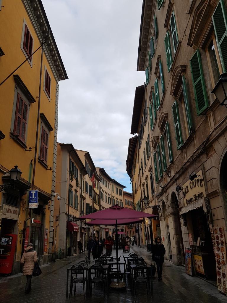 Piza, Corso Italia, ulica sklepowa