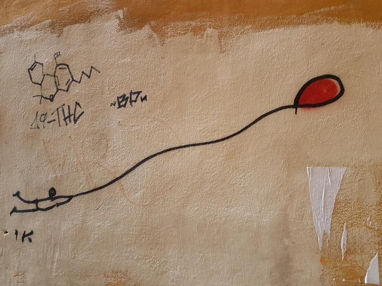 Piza sztuka uliczna