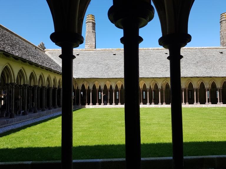klasztor sw. Michala Archaniola, Mont Saint-Michel
