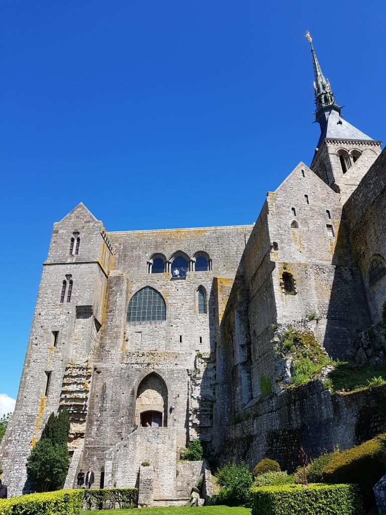 klasztor sw. Michala Archaniola, Mont St Michel