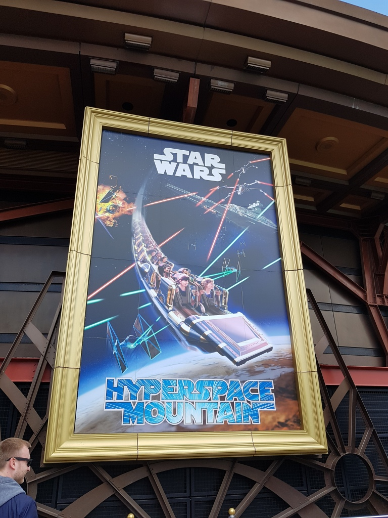 Hyperspace Mountain star wars francja