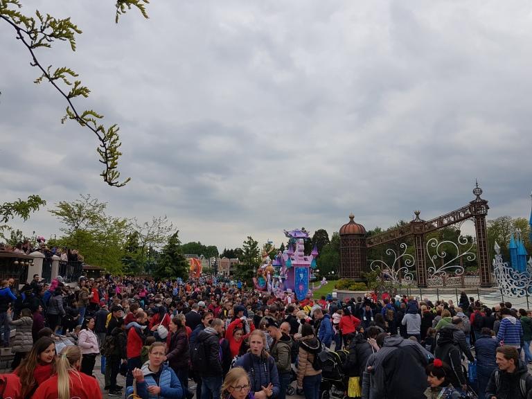 Disneyland parada, Paryz