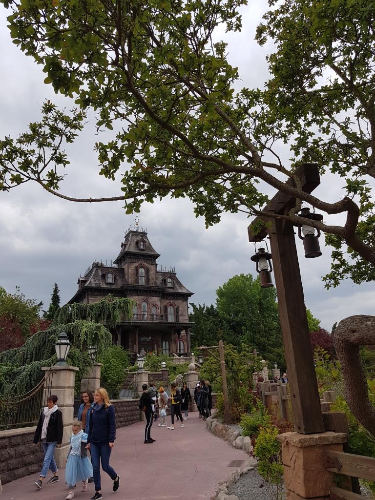 Dom strachow, Disneyland