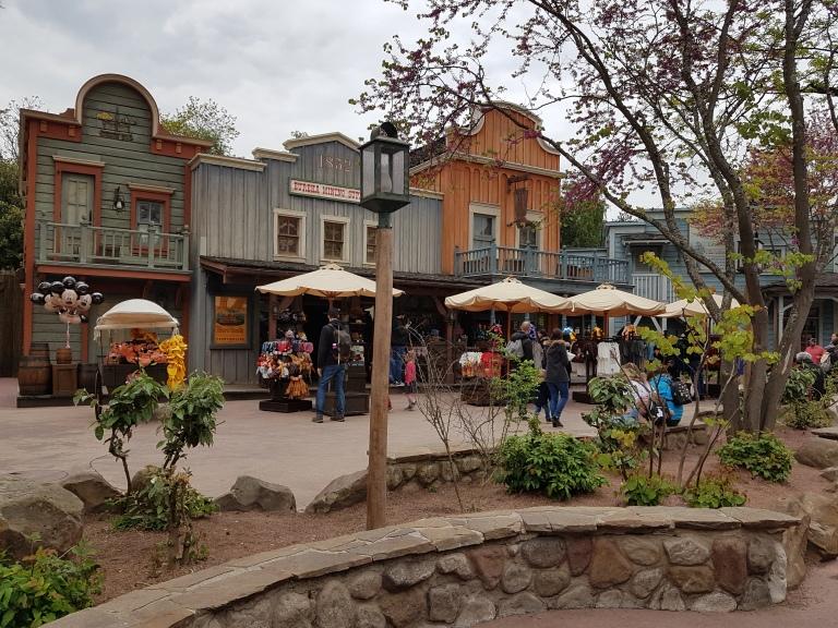 Frontierland Paryz Disneyland
