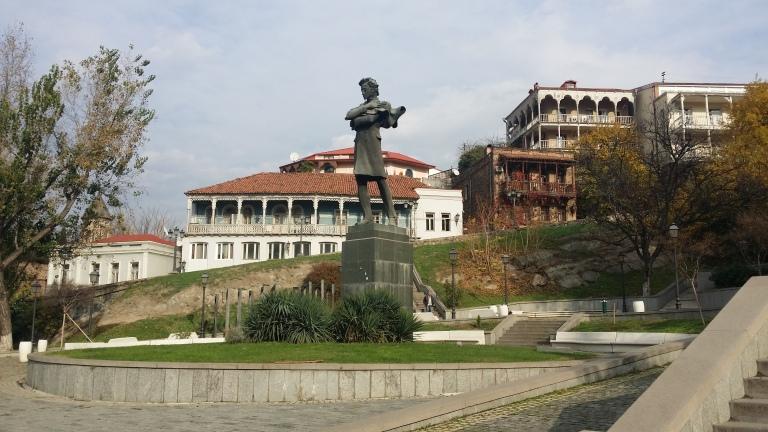Gruzja, balkony, architektura