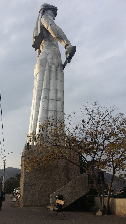 Matka Gruzja pomnik Tbilisi