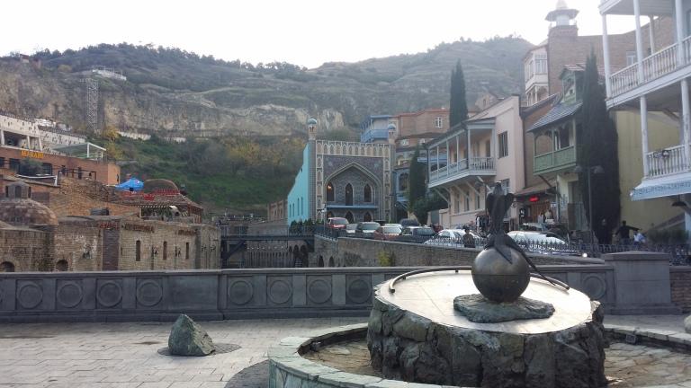 laznie w Tbilisi, Gruzja