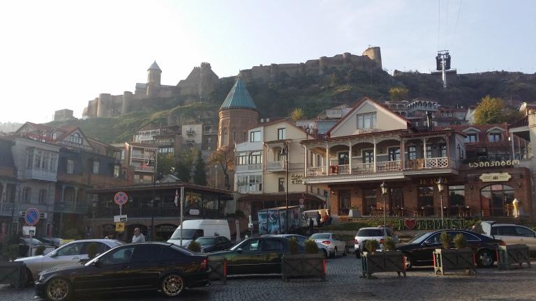 Tbilisi, Gruzja, kolejka linowa
